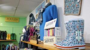 Seasalt products at Lindsayline, Kirkcudbright